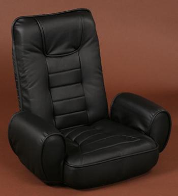 低反発肘掛け付き座椅子【GORILLA】ゴリラ
