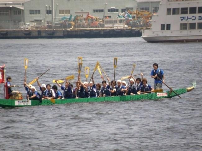 ドラゴンボートレース:マリノスサポーターズ