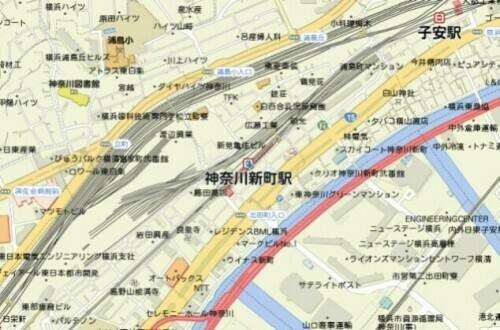 kanagawashinmachi_map