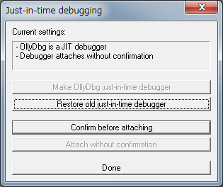 Just-in-timedebugging