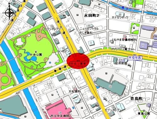 blog中央公園東交差点地図.png