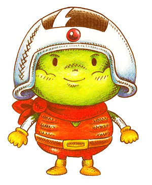 レトロ キャラクターデザイン