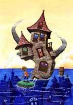 ファンタジー 不思議な家