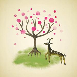 童話、少女、心、自然