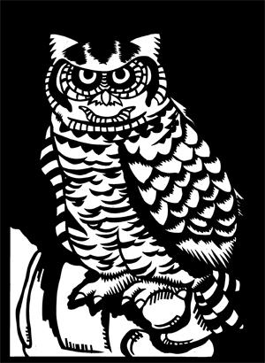 イラストレーター 切り絵 動物画 風景画