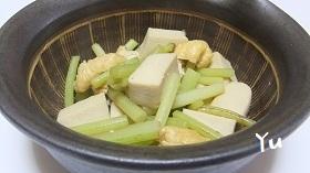 蕗・厚揚げ・高野豆腐