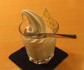 新川牧場のソフトクリーム