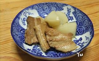 蕪と豚の角煮