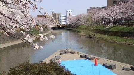 いたち川と松川