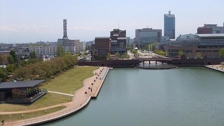 天門橋からの眺め
