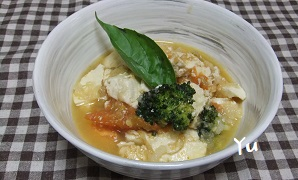 トマト・豆腐・ブロッコリー