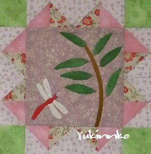 Monthly Quilt 9月とんぼ