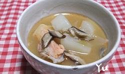 鮭のアラ煮