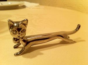 ネコの箸置き