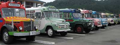 ボンネットバス大集合!!