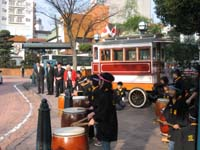 三篠小学校児童による和太鼓演奏