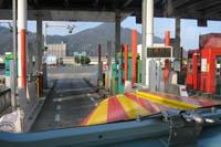 広島IC入口のETCレーン