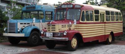 羽後交通でともに活躍した2台 日野BH15(1961年式,帝国自動車工業)との惜別