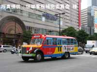 渡辺通り(西鉄天神バスセンター前)を行く日野BA14