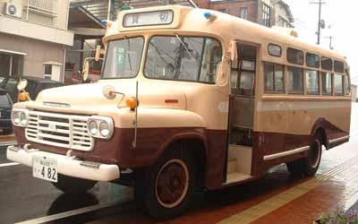 ボンネットバス・いすゞBXD30(1963年式,松本車体製作所)