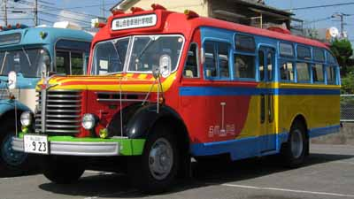 ボンネットバス・日野BA14(1958年式,東浦自動車工業)
