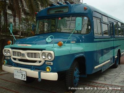 元江若交通のいすゞBXD30(1967年式,帝国自動車工業) 2003年11月譲渡当日に撮影