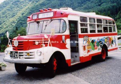 濃飛乗合自動車のいすゞBXD30(1967年式,帝国自動車工業)「馬瀬川号」