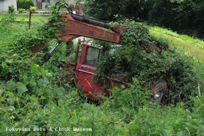 マツダB1500(BUB61)廃車体 確認調査時の状況 2010年6月16日撮影