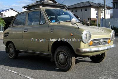 福山市山手町・Y様よりご寄贈いただいたスズキ・フロンテLC10スーパーデラックス(1970年式)