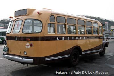 鞆鉄道のボンネットバス・いすゞBX341(1958年式,新日国工業)