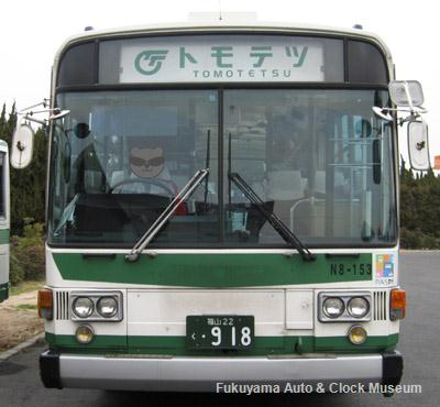 鞆鉄道の日産ディーゼルP−UA32L(1988年式,富士重工業15型E)