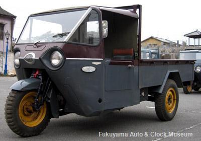 三輪トラック・マツダCLY71(1956年式)