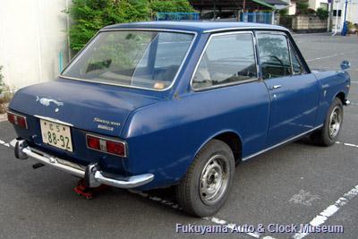 ダットサン サニー1000デラックス(初代B10前期型2ドアセダン,1966年式)