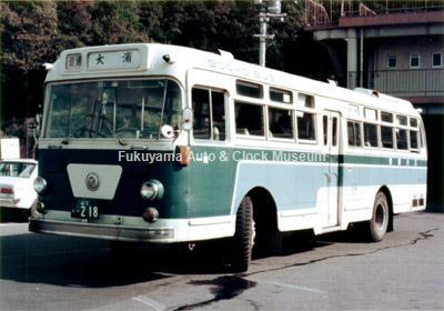 防長交通の日野RB10P(1963年式,金澤産業,山2い218)