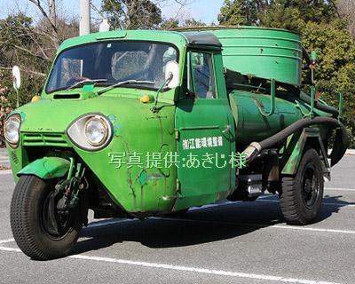 江田島で活躍するマツダT2000衛生車(TVA8E,1969年式) 2010年1月7日 あきじ様撮影