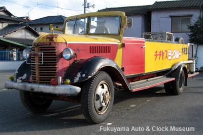 10月31日、チチヤスより受贈したトヨタBM改木炭車(1949年式)【クリックで掲載記事へリンク】