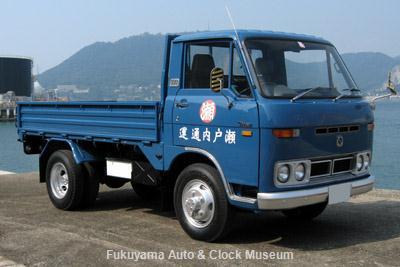 NHK土曜ドラマスペシャル「とんび」に出演 低速貨物様のマツダ タイタン(1976年式) 旧門司食糧倉庫において