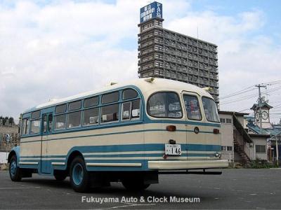 ボンネットバス・日野BH15(1961年式,帝国自動車工業)【クリックで大きく表示】