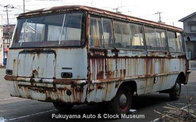 マツダ ライトバスAEVA(C)廃車体 2012.2.24撮影【クリックで大きく表示】