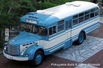 ボンネットバス・日野BH15(1961年式,帝国自動車工業) 2010年7月23日撮影【クリックで大きく表示】
