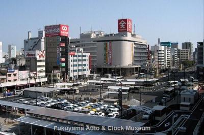 新しくなった福山駅前(2012年3月21日撮影)【クリックで大きく表示】
