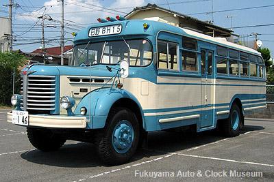 ボンネットバス・日野BH15(1961年式,帝国自動車工業)