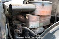ボンネットトラック・ニッサンディーゼルT80系に搭載のUD4型エンジン 画像の搭載車は1968年式のクレーン車【クリックで大きく表示】
