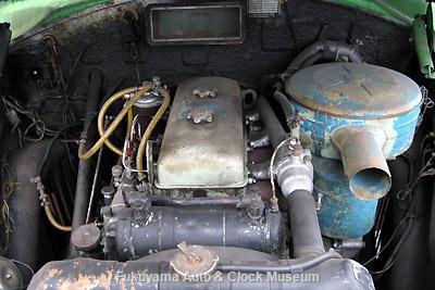 ボンネットバス・ニッサンU690(1963年式,渡辺自動車工業)に搭載のUD3型エンジン