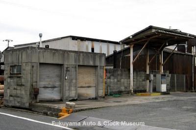 旧井笠鉄道 福山自動車営業所 給油所 10月18日撮影【クリックで大きく表示】