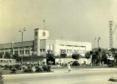 昭和34年(1959)8月に撮影の天満屋福山店の写真【クリックで大きく表示】