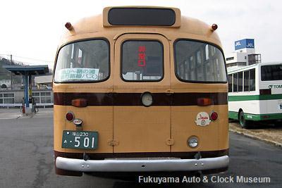 鞆鉄道のボンネットバス・いすゞBX341(1958年式,新日国工業) 2011年1月23日撮影