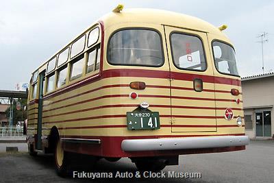 豊後高田市のボンネットバス・いすゞBX141(1957年式,北村製作所,2009年当館再生) 2009年10月1日撮影