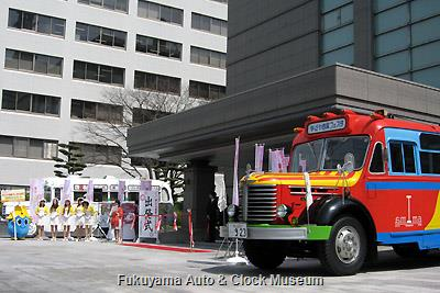 4月1日、名古屋市公館前で開催の な・ご・や商業フェスタ2013 出発式(リハーサル)風景