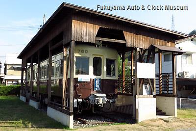 高松琴平電気鉄道760号(元玉野市営電気鉄道モハ103号)保存施設